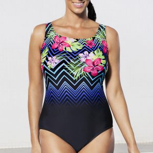 9618072464859 Aquabelle Costa Chevron Tank Swimsuit. 62.00   24.98  . Sale!