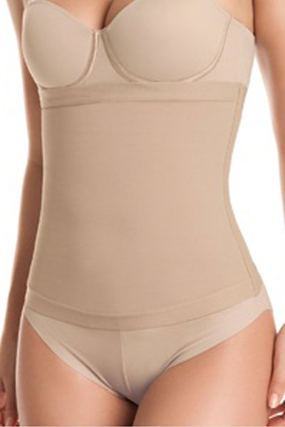969b2da14d Defining Moment No Closure Waist Cincher by Leonisa 18450M-Nude-S
