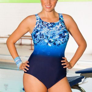 b1f601c590 Aquabelle Aqua-holic Plus Size High Neck Swimsuit