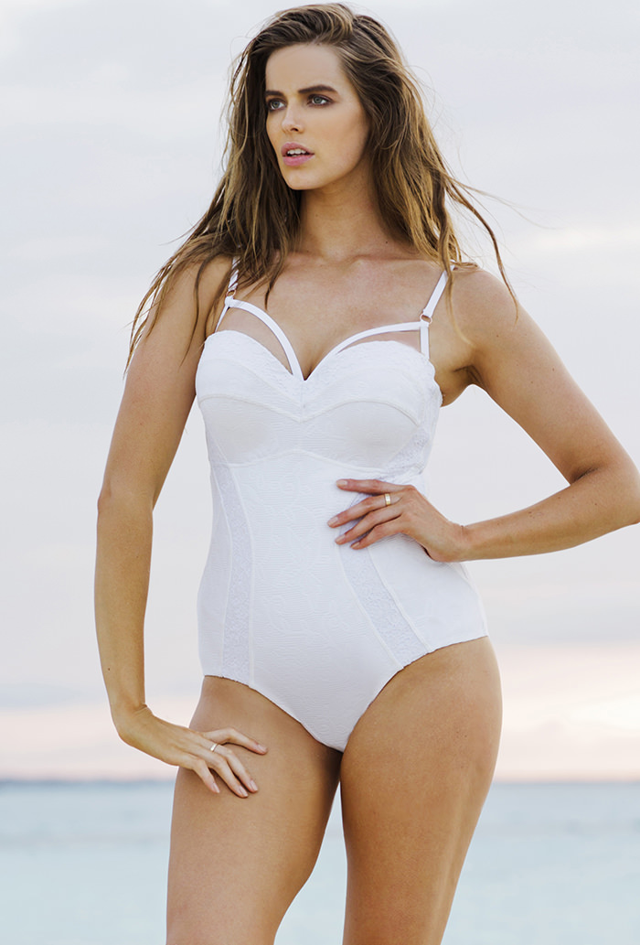 022ee526d6 Robyn Lawley Almost French Moulded D DD Underwire One Piece
